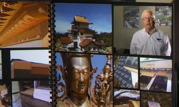 9 News Features Jeff Johnston and The Roofing Company's Award Winning Crestone Temple Project