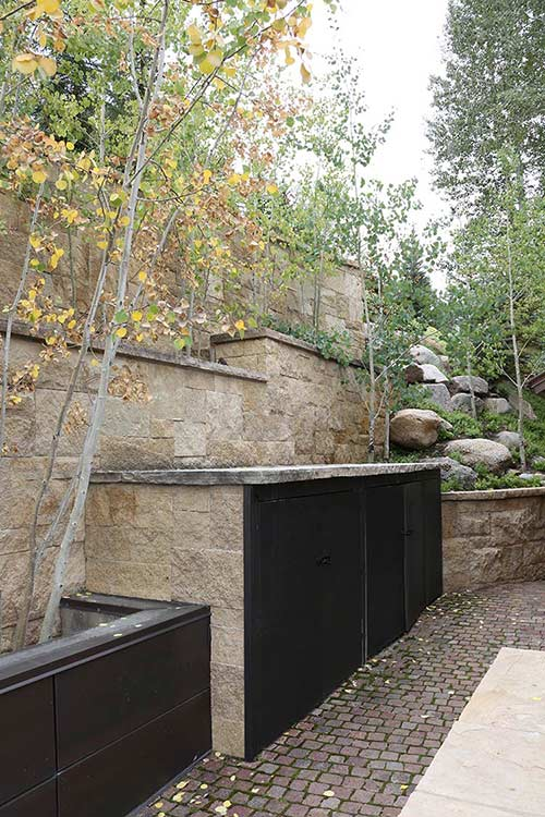 Exterior Wall Panel Design Vail CO