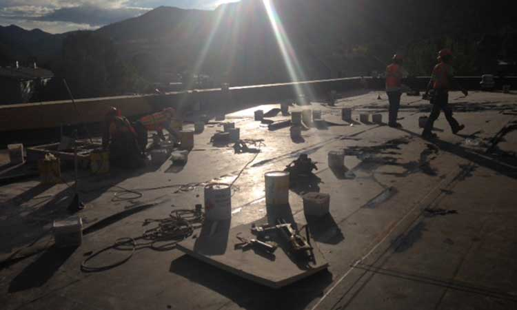 Flat Roof Construction Granby CO