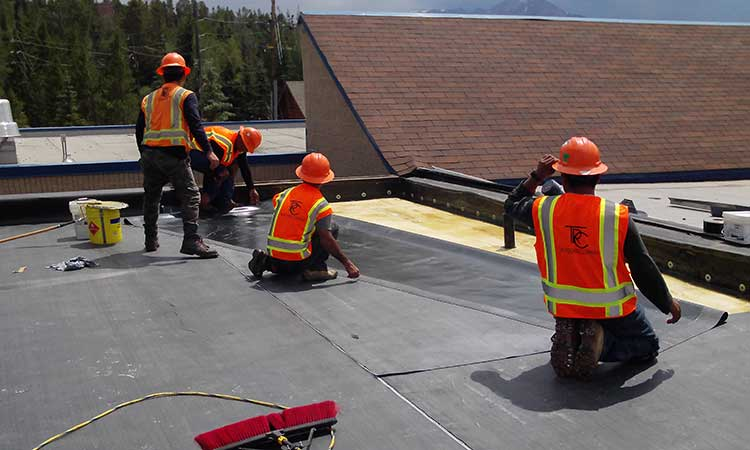 Flat Roof Replacement Granby CO
