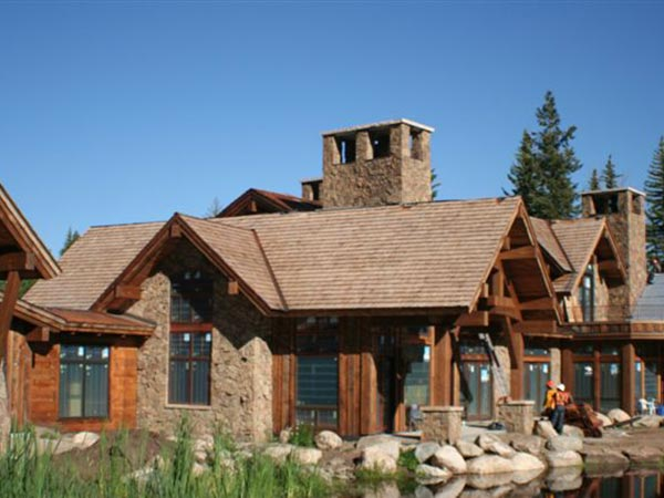 Mountain Roof Construction Service