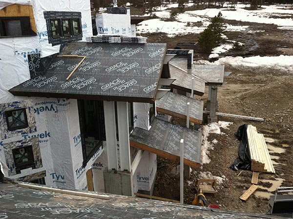 New Roof Construction Silverthorne CO