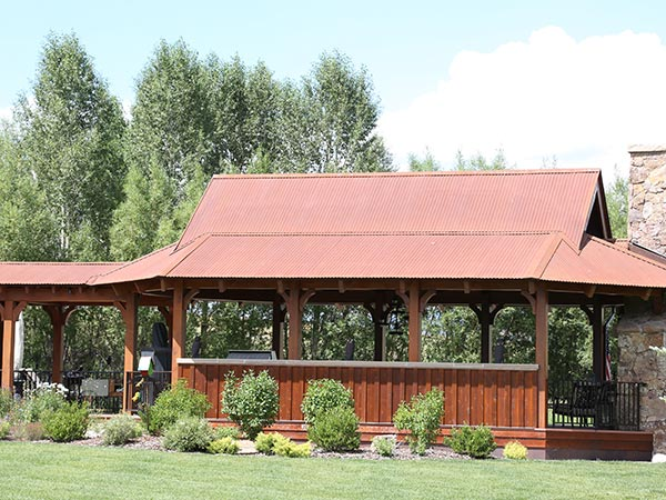 Pavilion Roof Designs Steamboat CO