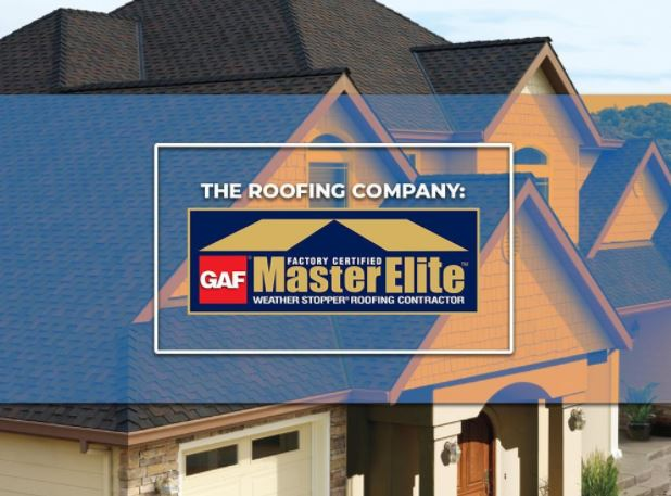 The Roofing Company: GAF Master Elite® Roofers